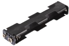 PRO POWER PP002046  Battery Holder, 4X Aa, Long, Snap